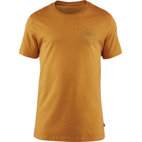 Fjällräven Forever Nature Badge - Camiseta manga corta Hombre - amarillo